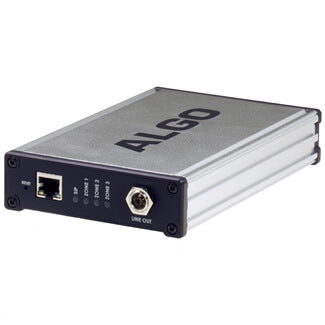 Algo 8373 IP Zone Paging Adapter for Analog Amplifiers