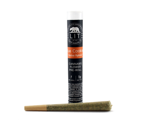 Blue Cookies | Pre-rolled Joint by Elite