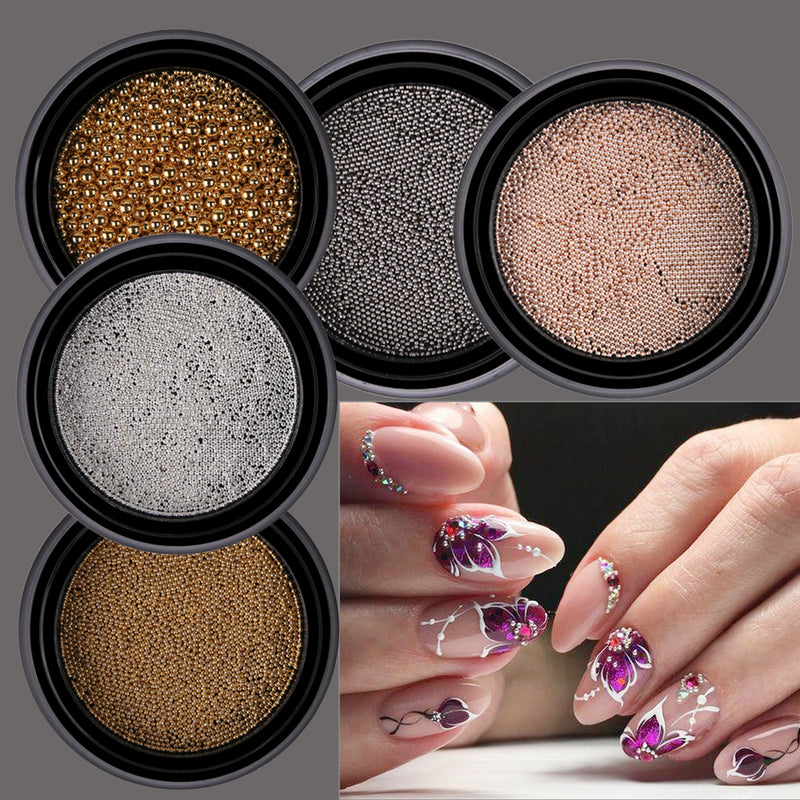 Caviar 3D Nail Decoration. Nail Art Decorations . – Poise and Beauty ...