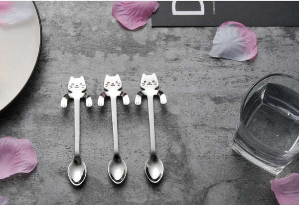 Cat Spoon Front