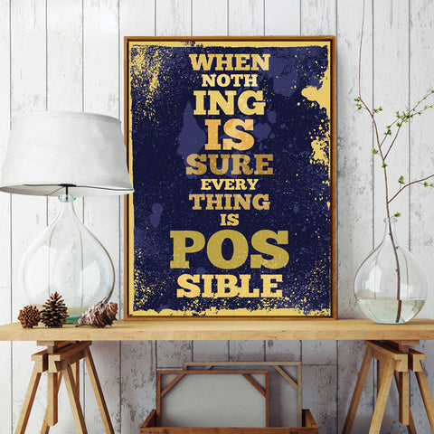 Vintage Inspirational Canvas Collection - CHIMPONTEE
