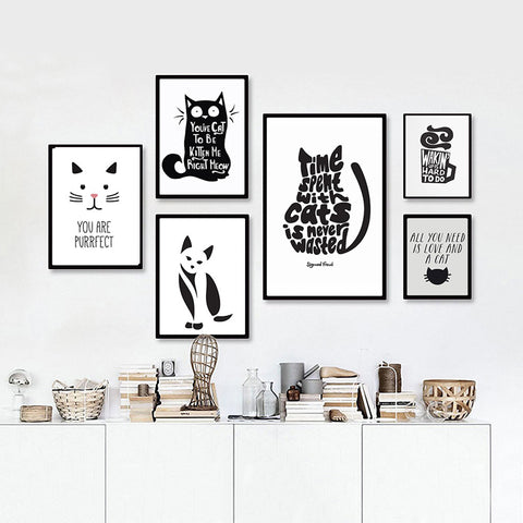 Cat Canvas Collection - CHIMPONTEE