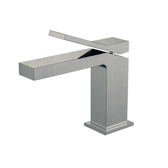Monomando alto para lavabo EDGE 1.0 Nickel brushed