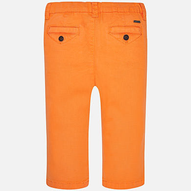 Twill chino long trousers