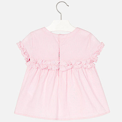 Poplin blouse for girls