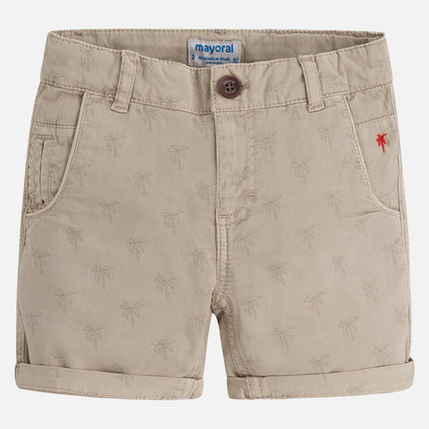 Palms Patterned shorts for boy
