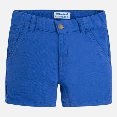 Structured shorts for boy
