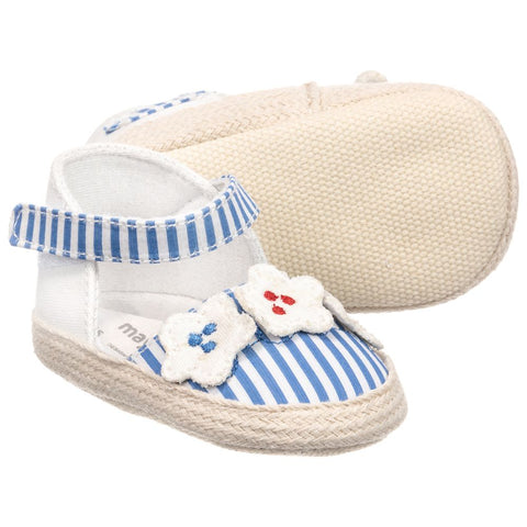 Espadrille sandals for newborn girl