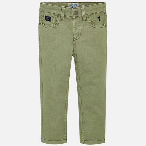 Pants with detailing