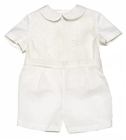 Baby boy organza Christening Suit