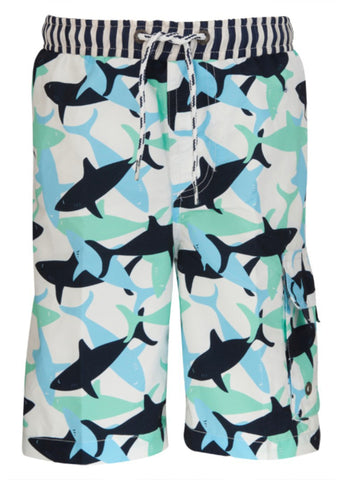 Sharks Boys Shorts