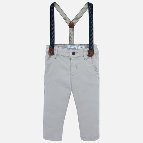 Long pant with suspenders