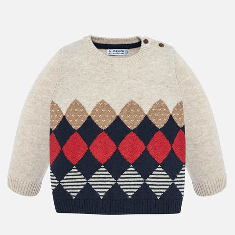 Rhombuses sweater
