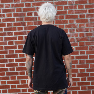 Back View of Harness the Power of Love T-shirt from Death By Audio
