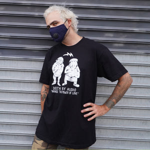 Robi in Harness the Power of Love T-shirt from Death By Audio