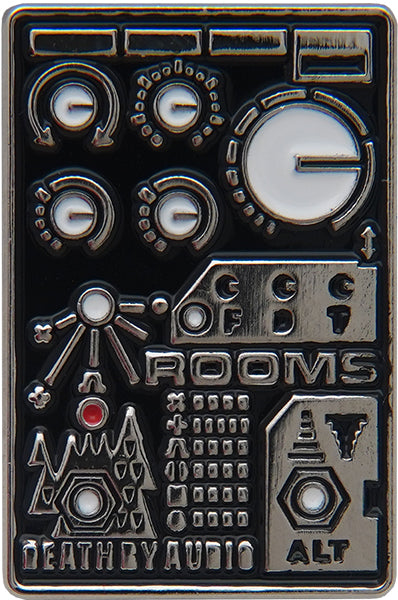 ROOMS ENAMEL PIN