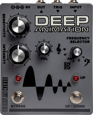 Death by Audio Deep Animation envelope filter effects pedal