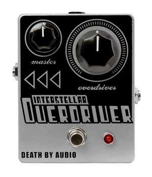 Death by Audio Interstellar Overdriver transparent overdrive effects pedal