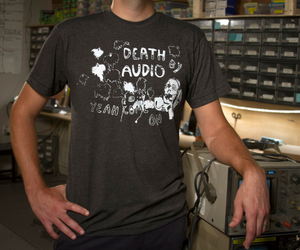 Death by Audio Ghost t-shirt