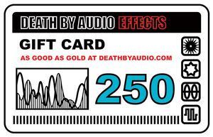 Death by Audio Effects gift card
