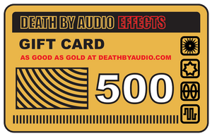 GIFT CARD - Death By Audio