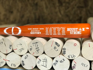 WS 2017 Houston Strong Commemorative Bat - Limited Edition