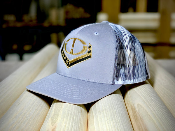 """The Grey Ghost"" OTW LOGO Snapback Trucker Cap"