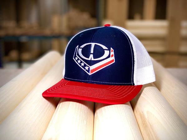 """The Patriot"" OTW Logo Snapback Trucker Cap"