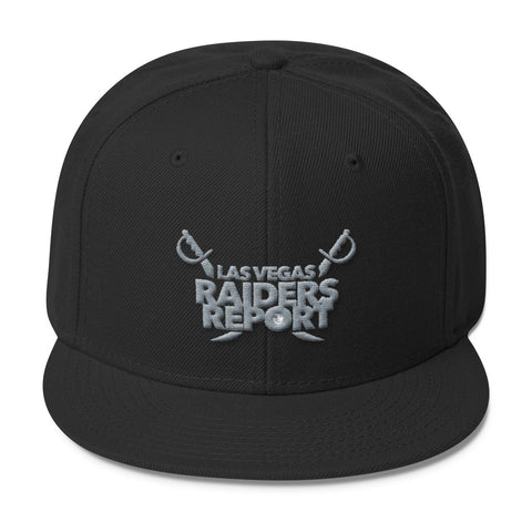 Las Vegas Raiders Report Wool Blend Snapback