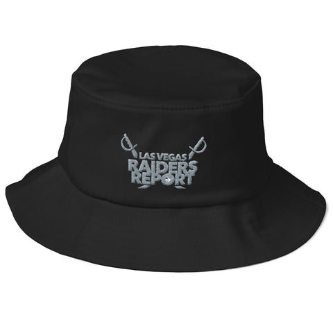 Las Vegas Raiders Report Old School Bucket Hat
