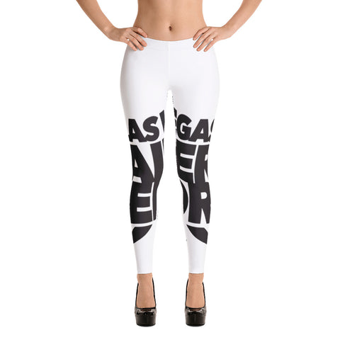 Las Vegas Raiders Report All-Over Leggings