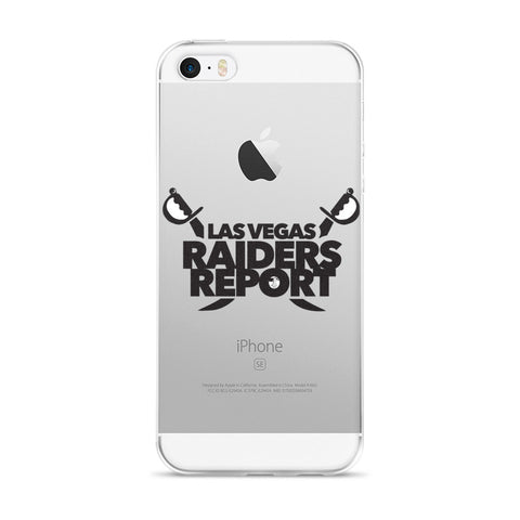Las Vegas Raiders Report iPhone 5/5s/Se, 6/6s, 6/6s Plus Case