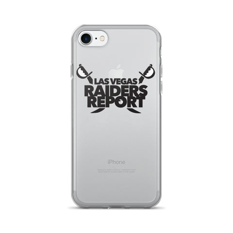 Las Vegas Raiders Report iPhone 7/7 Plus Case