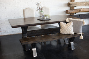 Urban Loft Boxcar Dining Table