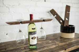 Reclaimed Wine Holder