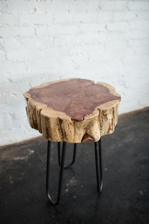 Reclaimed Cedar Side Table