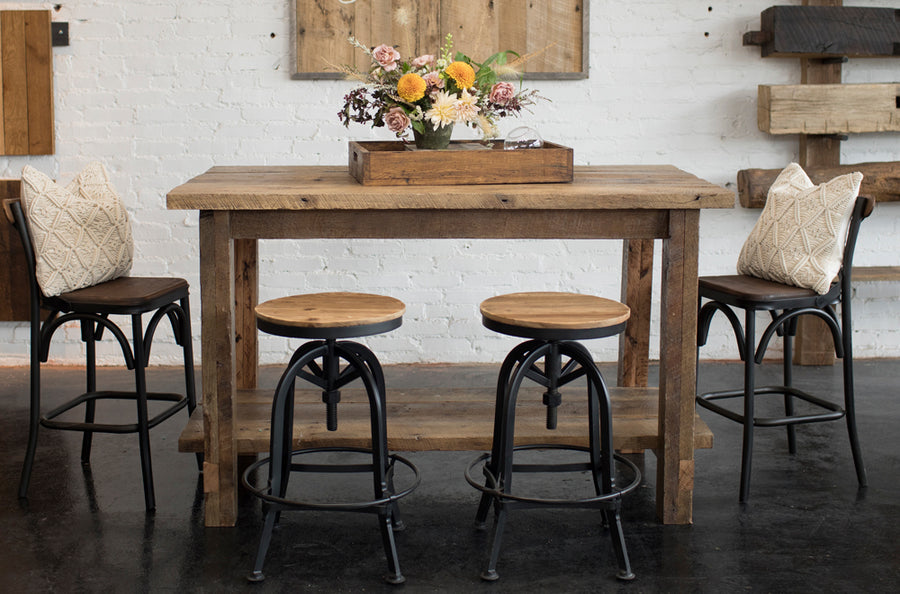 Farmhouse Island Table