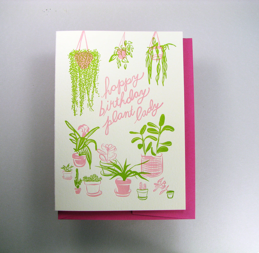 Plant Lady Birthday
