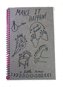 Make it Happen Journal by Wolf and Wren Press