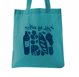 """You Be You""  tote"