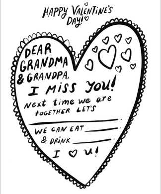 Grandparent Valentine Free Download