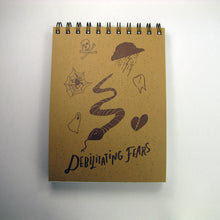 Big Dreams Debilitating Fears Notebook