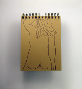 Small Nude Notebook