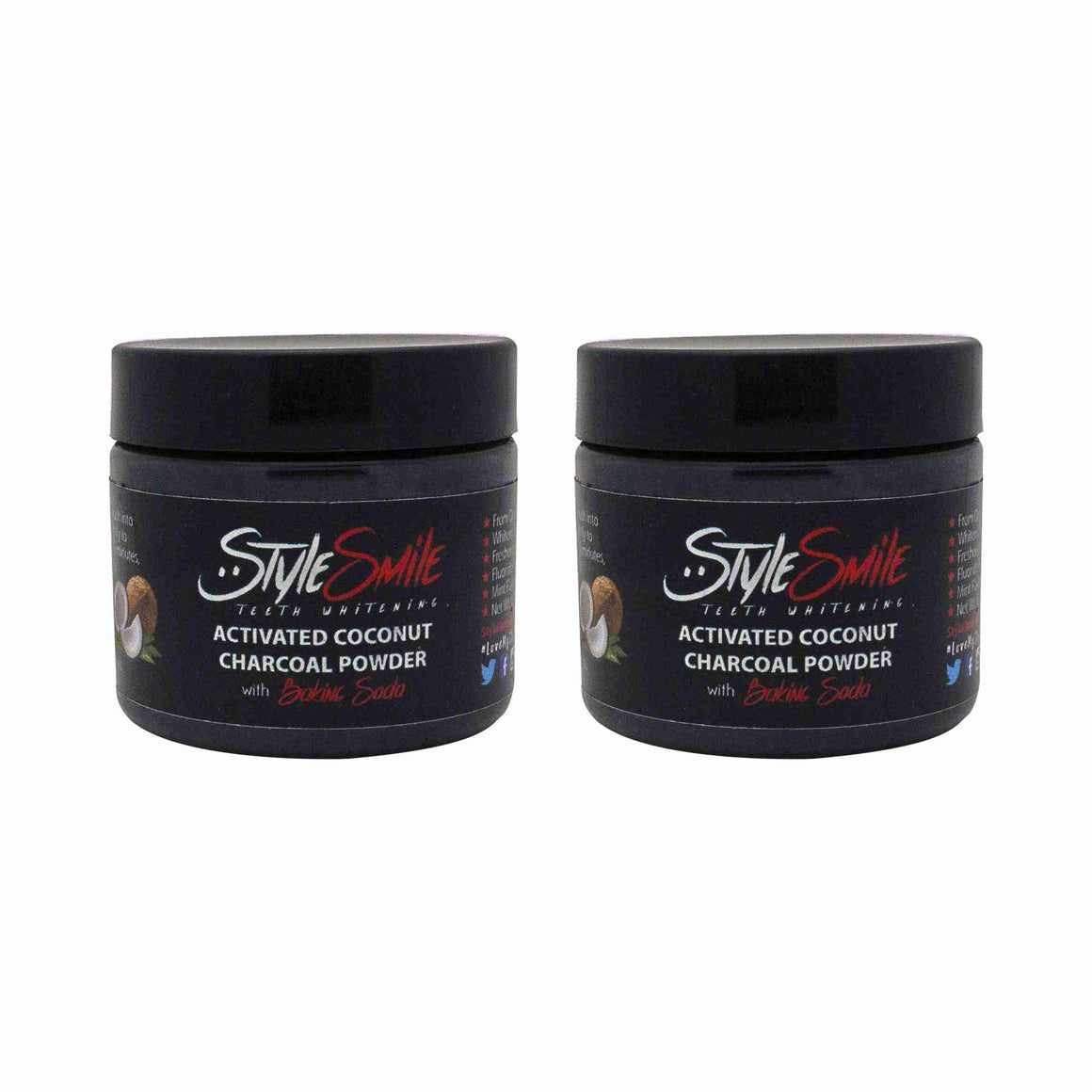 Activated Charcoal Teeth Whitening Powder (Groupon - 2 Jars)