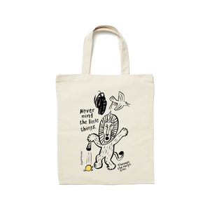 MAKIA x CupOfTherapy LittleThing -tote bag