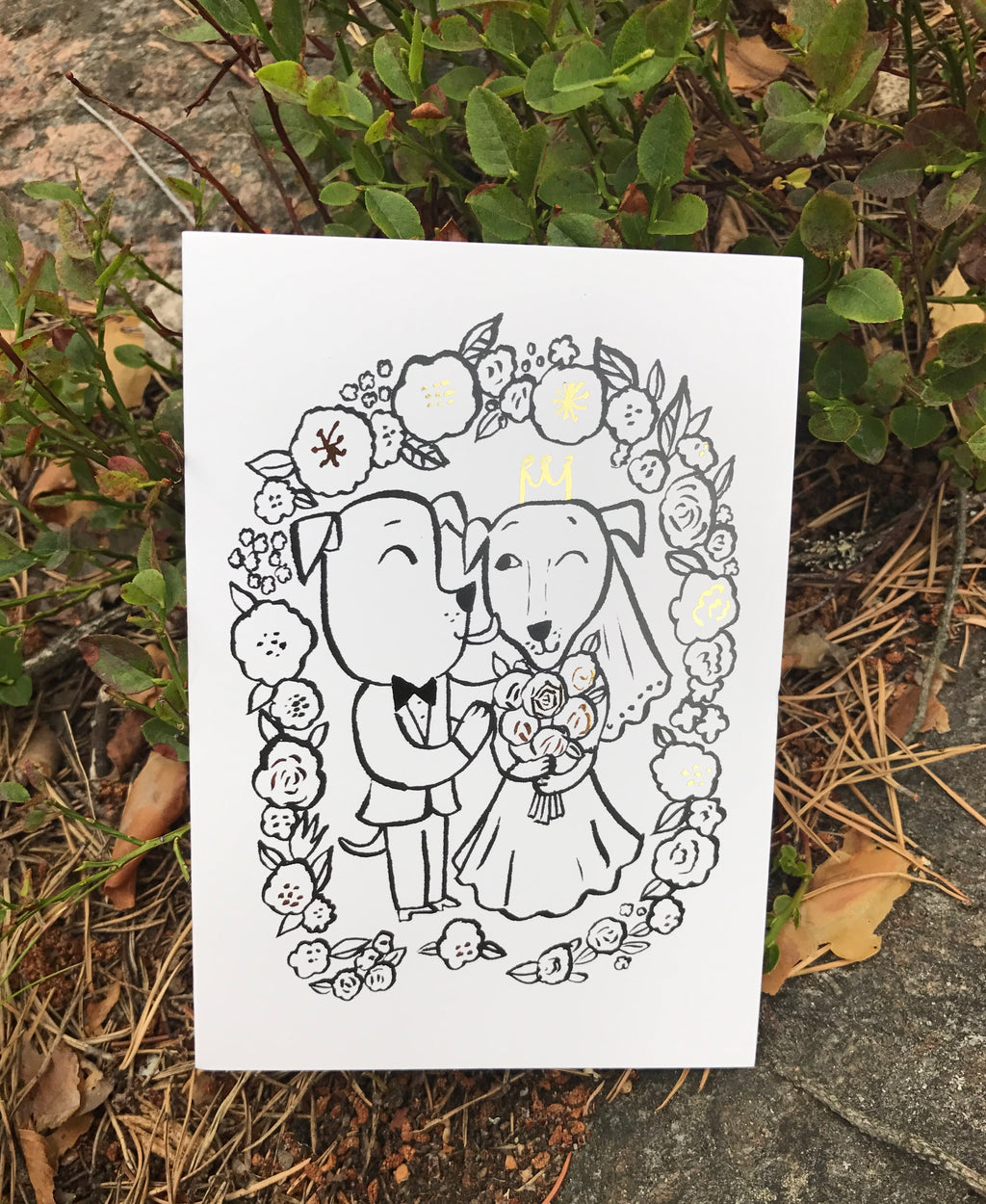 WeddingLove -greeting card