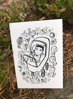 Baby -greeting card