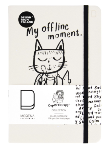 My offline moment - A5 ruled notebook