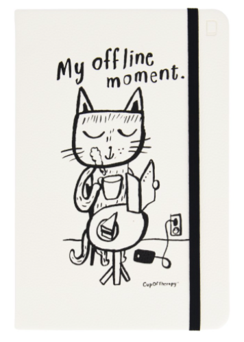 MyOfflineMoment -ruled notebook A5