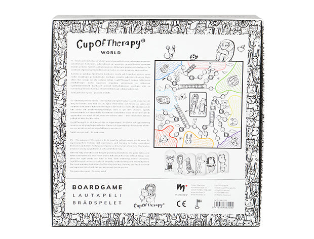 CupOfTherapyWorld -board game